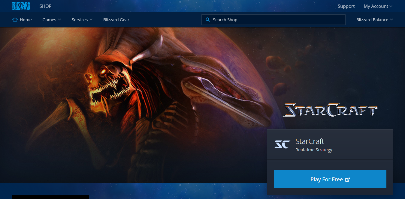 Screenshot 2018 10 14 StarCraft StarCraft Blizzard Shop - You Have to Check Out These Top 7 Free PC Games