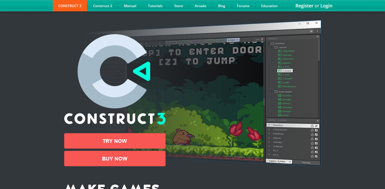 Screenshot 2018 10 14 Create Games with Construct 2 - 6 Of the Best Video Gaming Tools for Creating Your Own Game
